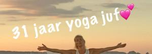 Ria Suyderhoud 31 jaar yoga juf